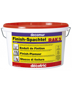 Decotric Decomur Finish-Plamuur RAK3